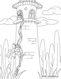grimm fairy tales coloring pages rapunzel grimm tale coloring