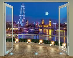 walltastic view london skyline 2 44m x 3 05m wall mural reviews default name