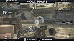 twitch youtube video overlay template free download youtube