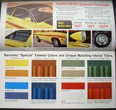 ford ranchero 500 gt explorer f 100 f 250 sport custom sales brochure
