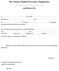 Sle Of Certification Letter Of Residence Proof Of Address Letter Format Address Format In Letter Business