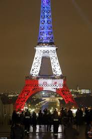French Flag Eiffel Tower The Eiffel Tower Is Lit Up With The Tricolore As It Reopens After