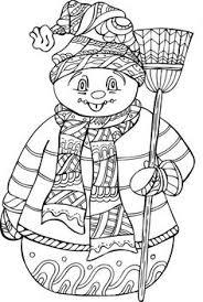 winter doodle coloring pages 1 1 1 u003d1 children u0027s