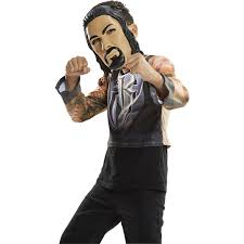 wrestling costumes for halloween wwe basic costume roman reigns walmart com