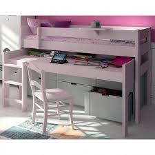 lit bureau enfant lit compact surélevé bureau roulant et caissons classics ma