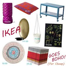 gypsy yaya ikea bohemian home accessory round up