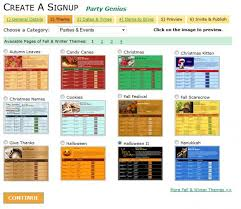 Event Sign Up Sheet Template Free Free Signupgenius Tool Makes Planning Your Or Volunteer