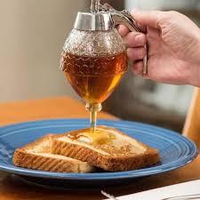 distributeur cuisine cuisine drip sirop miel jus de distributeur container titulaire pot