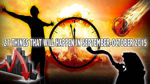 27 things that will happen in september october 2015 youtube