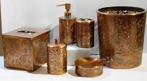Brown Bathroom Accessories Copper Bathroom Accessories Copper Bathroom Basins Chromed