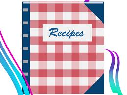 recipe book backgrounds presnetation ppt backgrounds templates