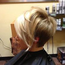 medium shorter in back hairstyles best 25 short stacked hair ideas on pinterest stacked bob