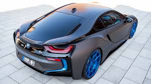 matte grey bmw bmw i8 wrapped in matte gray gets one off photo session bmwcoop