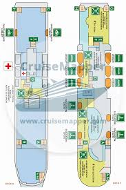 pont aven ferry deck plan cruisemapper