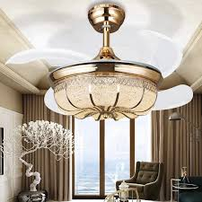 Chandelier Light For Ceiling Fan Popular Ceiling Fan Crystal Chandelier Buy Cheap Ceiling Fan