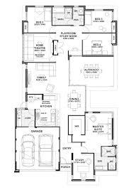 floor plan friday study home theatre u0026 open play area