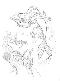 coloring pages mermaid coloring book mermaid