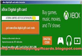 xbox digital gift card xbox one gift card code generator no survey