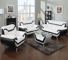 black leather living room black leather living room set 51155 by acme