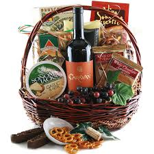 Gift Baskets With Wine Wine Gift Baskets Fanciful Feast Wine Gift Basket Diygb