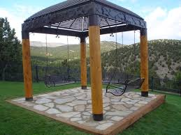 Patio Gazebo Ideas Patio Gazebo Design With Metal And Wood Patio Gazebo Design Ideas