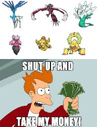 Pokeman Meme - pokemon meme shiny xy legendaries by dracularamerica on deviantart