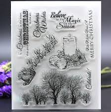 popular craft stamps christmas buy cheap craft stamps christmas