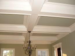 bedroom luxury white stained coffered ceiling kits for kitchen