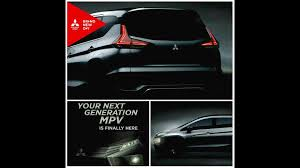 mitsubishi xm concept production version teased in indonesia