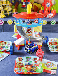 paw patrol kids table set paw patrol party ideas your kids will love soiree event design