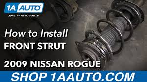 nissan versa quick strut how to install replace front strut spring assembly 2008 11 nissan