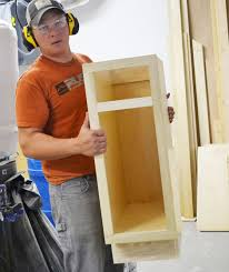 how to build base cabinets with kreg jig building base cabinets white