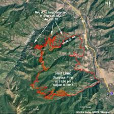 Map Of Montana by More Evacuations Ordered For The Sunrise Fire In Western Montana