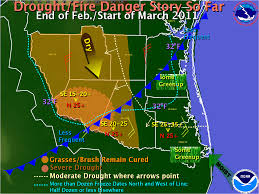 Weather Fronts Map Rio Grande Valley Deep South Texas Spring Weather Potential For