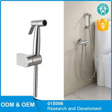Bidet Diaper Sprayer Toilet Stainless Steel Bidet Sprayer Shattaf Set Hand Held Bidet