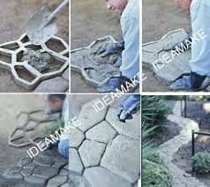 pavement moulds for garden ornaments diy your garden and pave ways