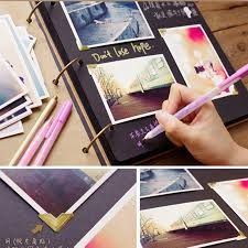 Leather Photo Albums Engraved Aliexpress Com Buy Personalized Vintage Photo Album Leather Baby