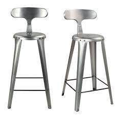 chaise pour plan de travail chaises pour plan de travail en métal brut zago absolument design