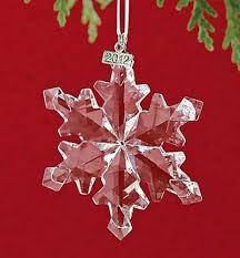 2012 swarovski snowflake annual ornament nib