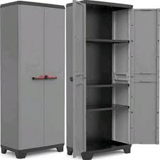 armadietto resina stilo armadio da esterno in resina tuttopiani basic 2 ante 3 piani
