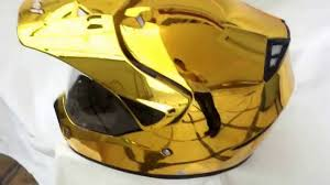 arai motocross helmet masei 310 gold chrome off road ktm motocross arai helmet youtube