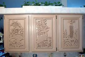 awesome custom made kitchen cabinet door plaques by gina stern