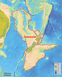 Continents On Map Scientists Say They U0027ve Discovered A Hidden Continent Under New