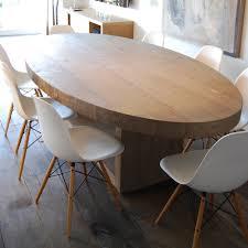 tavolo ovale legno tavolo ovale in legno plaisir design alpino