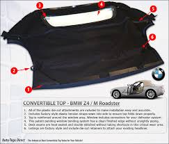bmw z3 convertible top cover bmw z4 m roadster 2003 2008 e85 convertible tops auto tops