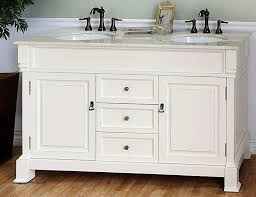 double sink bathroom vanity scott living durham white undermount