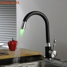 Popular Kitchen Faucets Fantastic Led Kitchen Faucets With Touch Sensor U2013 Perfect Image