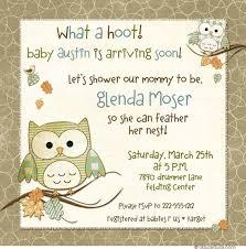 Owl Baby Shower Boy - hoot owls baby shower invitation sweet little birds winter