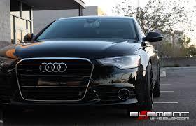 audi supercharged a6 20x10 niche misano matte black wheels on 2012 audi a6 supercharged