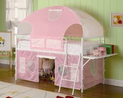 girls white storage bed furniture fancy u0027s storage bed with desk by maxtrix kids